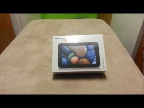 Lenovo Ideatab A2107A 7 inch Tablet Unboxing