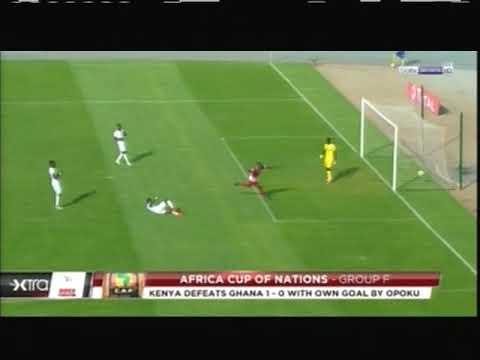 2018 (September 8) Kenya 1- Ghana 0 (African Nations Cup Qualifier)