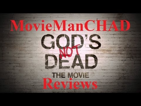 God's Not Dead (2014) movie review by MovieManCHAD