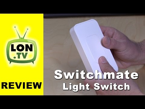 Switchmate Light Switch Review - Installs quickly but not so smart.