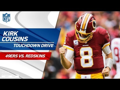 Video: Kirk Cousins Puts Together Another Great TD Drive! | 49ers vs. Redskins | NFL Wk 6 Highlights