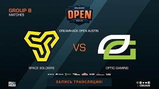 Space Soldiers vs OpTic - DreamHack Open Austin 2018 - map1 - de_mirage [CrystalMay, Anishared]