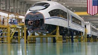 中国メーカーが米鉄道会社と共同で高速鉄道建設へ