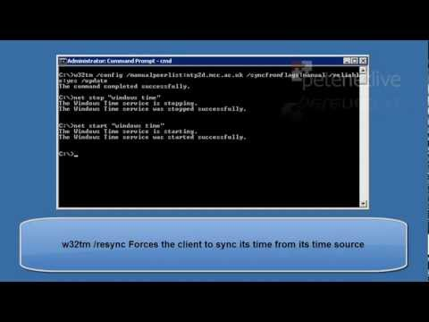 Microsoft Windows - Setting Server or Domain time from NTP.mp4 (видео)