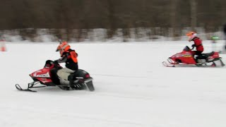 5. MODIFIED 120 CC POLARIS WITH POWER - SUPER FAST! | Just Snowmobiles
