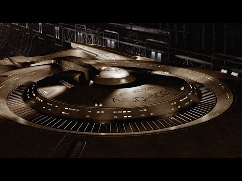 CBS Introduces the USS Discovery Ship at ComicCon for New Star Trek Discovery TV