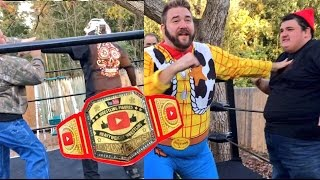 OFFICIAL YOUTUBE WRESTLING FIGURES CHAMPIONSHIP MATCH w/ LUCHA...