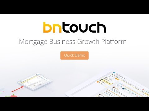 BNTouch Mortgage CRM - Quick Demo