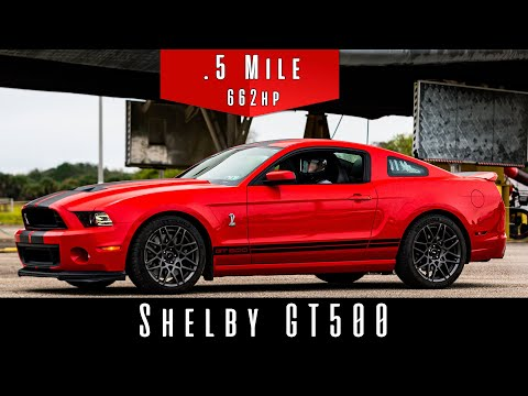 2014 Shelby GT500 | (Half Mile Test)