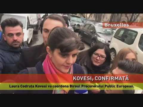 Kovesi, confirmată în funcția de procuror-șef european de Consiliul Uniunii Europene