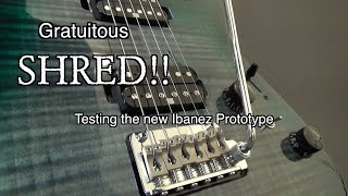 Apologies for the shred! I needed to give the guitar a good going over haha, hope you enjoy the video. Don't forget to Subscribe to see more exclusive Ibanez videos like this...and a lot more too. Thanks for watching. Best wishes, Lee.
