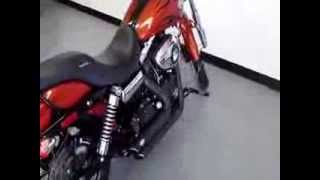 7. 2011 HARLEY DAVIDSON DYNA WIDE GLIDE WITH VANCE & HINES
