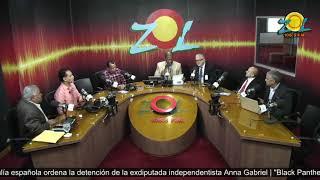 Lic. Luis Lithgow y Arturo Diaz agradecen al Danilo sus designaciones en el exterior