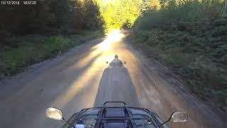 9. 2018 Honda Rancher 4x4 (foot shift) | High Speed Trail ride