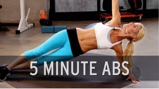 How to Lose Belly Fat: 5 Minute Abs Video
