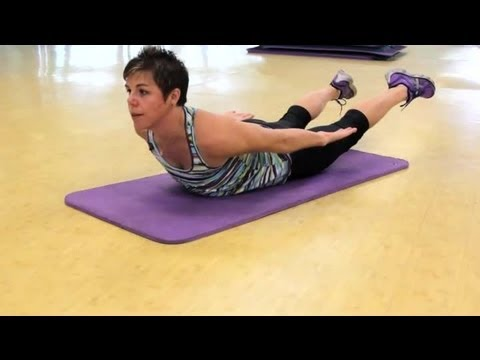 How to Lift the Legs & Head as a Back Exercise : Fitness & Exercise Routines