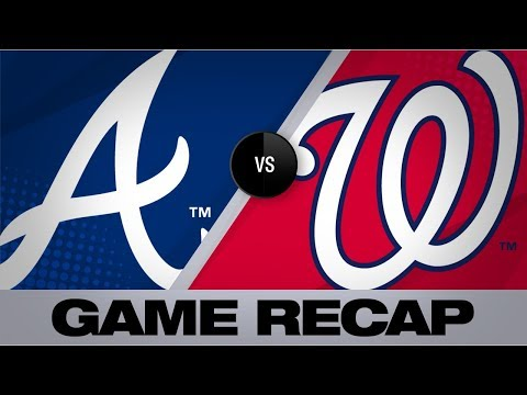 Video: Sanchez, 'pen silence Braves' hot bats | Braves-Nationals Game Highlights 9/15/19