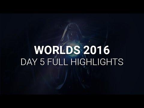 [CKTG 2016] Tổng hợp các pha xử lý hay Chung Kết Thế Giới ngày thứ 5 (07/10)