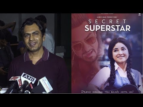 Nawazuddin Siddiqui At Special Screening Of Film Secret Superstar