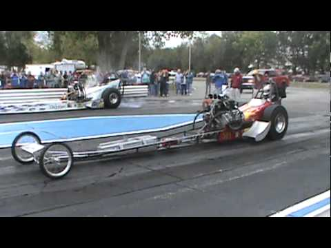 Nitro Top Fuel Diggers (Telstar) Makin' Some Noise At Central Illinois Dragway!!!
