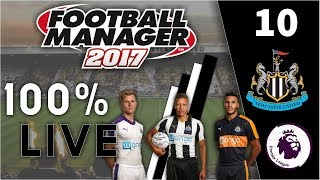 """Watch my new Football Manager 2017 series here: """"FM17 100% Live Let's Play  Newcastle United #1  Football Manager 2017"""" https://www.youtube.com/watch?v=IdSAN7h7jC4-~-~~-~~~-~~-~-FM17 100% Live Let's Play  Newcastle United #10  Football Manager 2017✪ SUBSCRIBE FOR DAILY FOOTBALL MANAGER 2017 VIDEOS! ✪---------------------------------------------------------------------------------------Welcome to my 100% live let's play of Football Manager 2017!Here I am managing Newcastle United in the Premier League after their recent promotion from the Championship.I am playing the game 100% live without edits, you will see exactly how I play FM17! With you seeing everything I do and how I play the game I hope you will be able to pick up some tips :)  ---------------------------------------------------------------------------------------Football Manager 2017 transfers and data updates - http://bit.ly/2efFdbTFootball Manager 2017 Blak skin - http://www.fmscout.com/a-blak-fm17-skin.html---------------------------------------------------------------------------------------My current FM17 series:FM17 100% Live Let's Play w/ Newcastle United Playlist - https://www.youtube.com/playlist?list=PLQARbeRpn0eguMsrz62NlkQ27QEHvyIDrFootball Manager 2017 10 Season Challenge Playlist - https://www.youtube.com/playlist?list=PLQARbeRpn0ege_lvjHSIwKNJZdCHlmfVbFootball Manager 2017 experiments you should check out: 300 Years In The Future  Year 2317 In FM17!  Football Manager 2017  - https://www.youtube.com/watch?v=d47fogjrYLU200 Years In The Future  Year 2217 In FM17!  Football Manager 2017  - https://www.youtube.com/watch?v=MLhLmxrHF-s100 Years In The Future  Year 2117 In FM17!  Football Manager 2017  - https://www.youtube.com/watch?v=teqRBfAZrMk---------------------------------------------------------------------------------------Thumbnail made by - https://www.youtube.com/JustM1kePlays---------------------------------------------------------------------------------------✪ Contact Info ✪Twitter - """