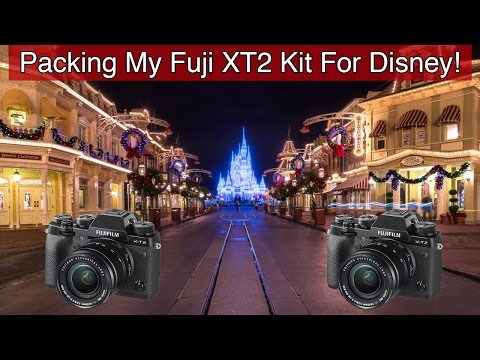 Packing My Fuji XT2 Kit For Disney World! What's In My Bag?