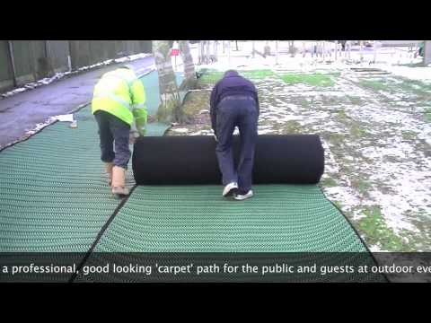 Grass Protection Mesh Grids Ground Reinforcement Mats