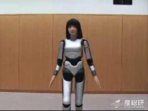 HRP-4C Fashion Model Robot