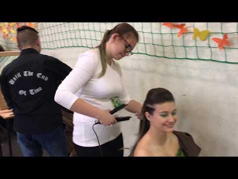 Wideo1: VII Międzyszkolny Konkurs Fryzjerski Zespół Szkół nr 4 w Lesznie