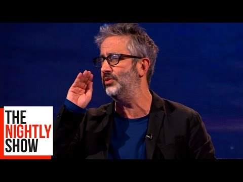 David Baddiel Remembers His Mum's Funniest Moments | The Nightly Show