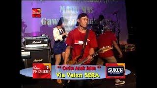 Cerita anak jalan ~ Via Vallen feat OM Sera di Stadion Wr Supratman Purworejo tahun 2017