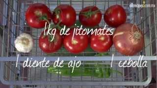 Cómo hacer gazpacho español