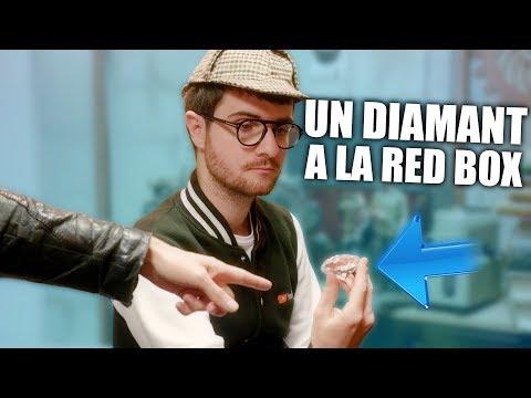 J'ai caché un Diamant à la REDBOX !