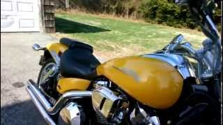4. 2007 VTX 1800F2 sound demo with road burner exhaust and hyper