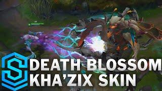 Chi tiết bộ trang phục Kha'Zix Hoa Độc (Death Blossom Kha'Zix)