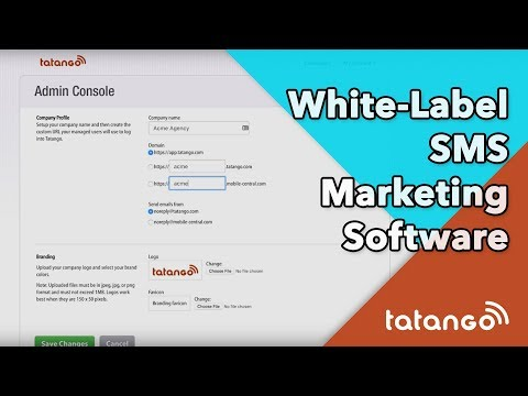 Tatango - White-Label SMS Marketing Software