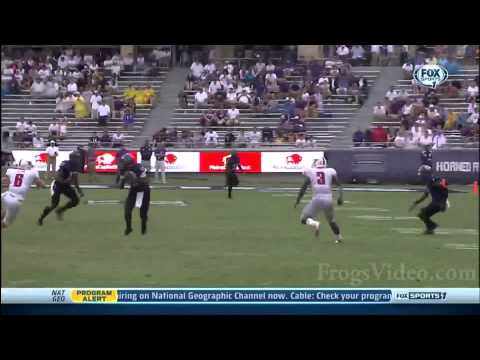 LaDarius Brown 45-yard kickoff return touchdown vs SMU 2013 video.