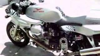10. Moto Guzzi 1100 sport walk around and startup