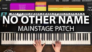 No Other Name MainStage patch keyboard cover- Hillsong Worship