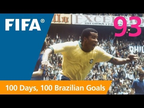 go - A fabulous samba goal from the 1970 FIFA World Cup Mexico™ where the legendary striker weaved his way through the Czechoslovakian defence to yet another goal...