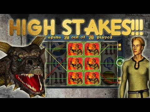 Dragons Treasure HIGH Stake bonuses....BIG WIN???