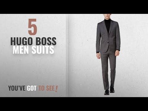 Top 10 Hugo Boss Men Suits [Winter 2018 ]: Hugo Boss Astian/Hets Extra Slim Fit 2 Piece Men's 100%