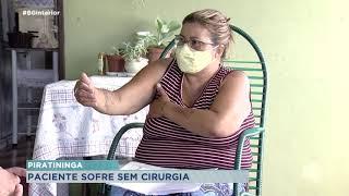 Moradora de Piratininga espera cirurgia no ombro há 7 meses