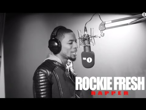 """ROCKIE FRESH """"FIRE IN THE BOOTH"""" FREESTYLE"""
