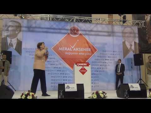 Çankırı'da Akşener rüzgarı