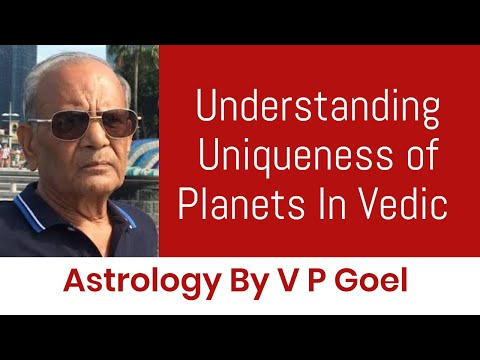 Understanding Uniqueness Of Planets In Vedic Astrology By V P Goel [Russian Subtitles]