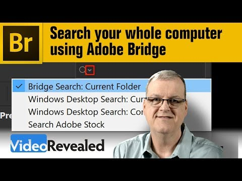 Search your whole computer using Adobe Bridge