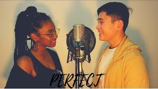 Ed Sheeran - Perfect Duet With Beyonce Cover by Jessica Reynoso and Ralf King