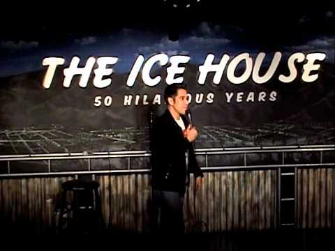 Erik @ the Ice House Comedy Club