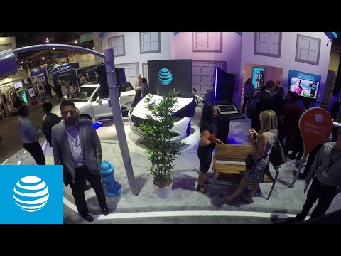 Inside AT&T's Internet of Things Booth at CTIA